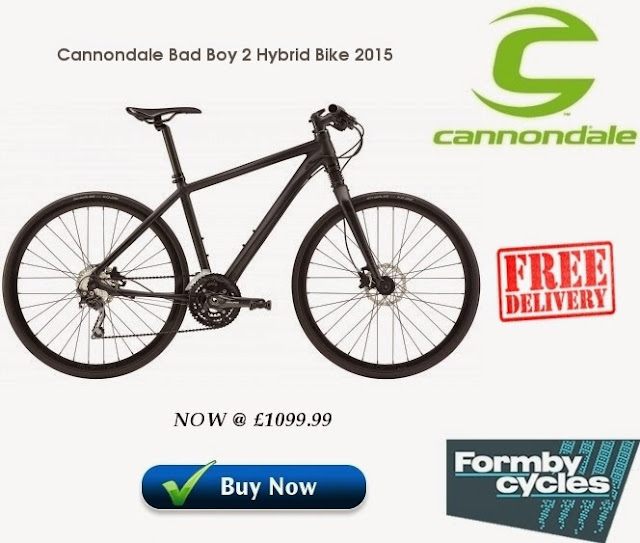 2015 Hybrid Bike: Cannondale Bad Boy 2