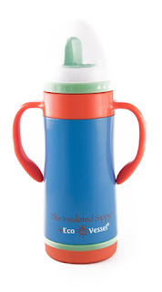 blue Ecovessel kids cups review!