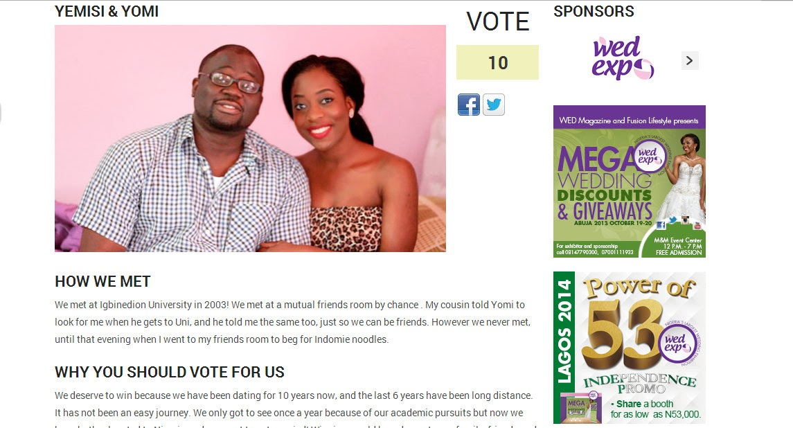PLEASE VOTE FOR BOBO & SISI