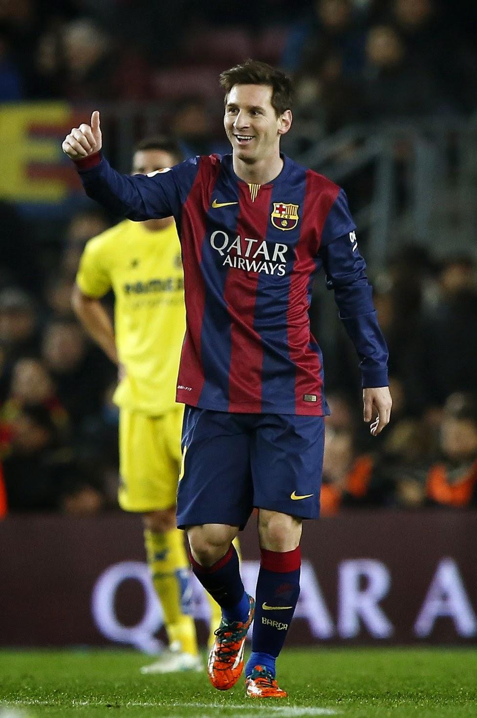 Lionel Messi FC Barcelona 2015