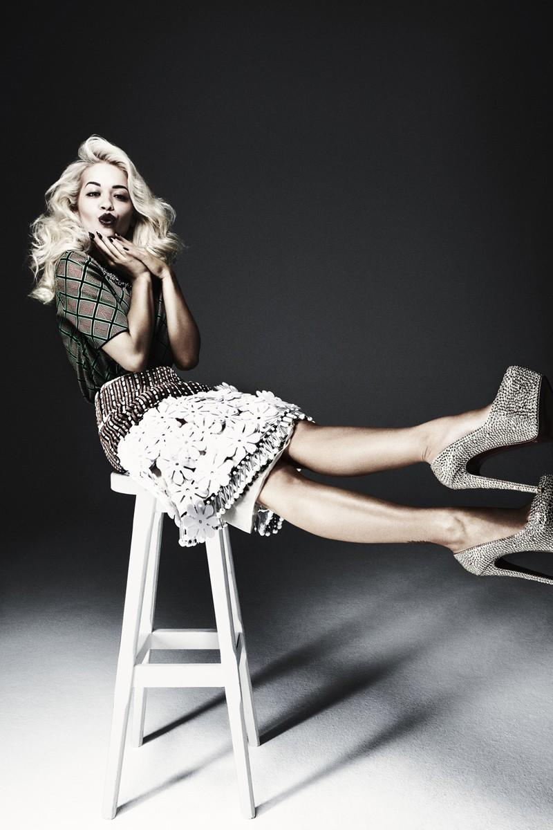 Rita Ora By Damon Baker For The Sunday Times Style
