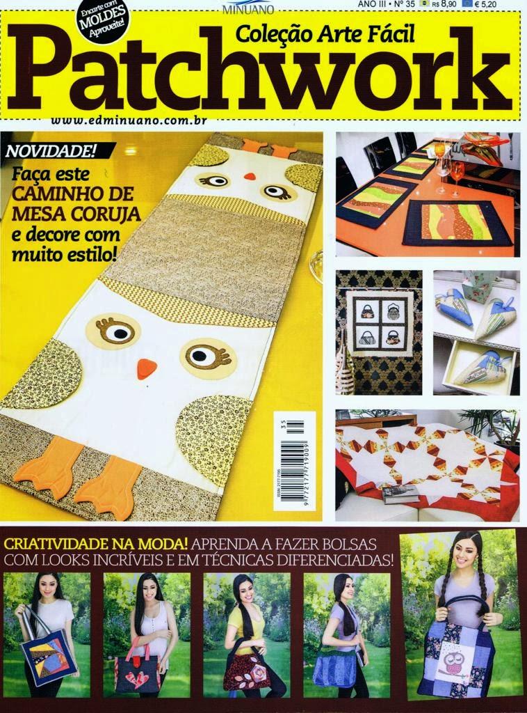 Onze trabalhos em patchwork e patchwork foundation e costura realizados por Maria Adna