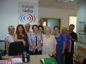 Sesión de poesía en Mataró Radio