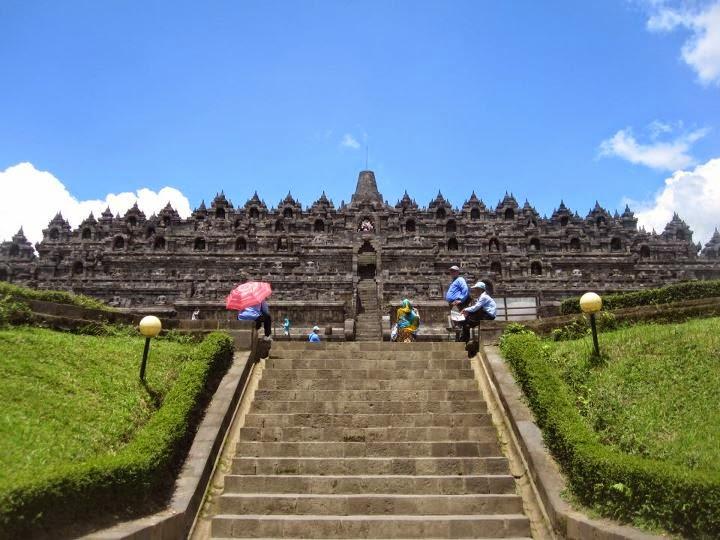 Candi Borobudur - Magelang Jawa Tengah
