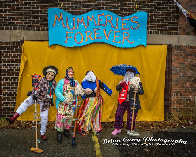 Mummers Parade, St John's Newfoundland by Brian Carey