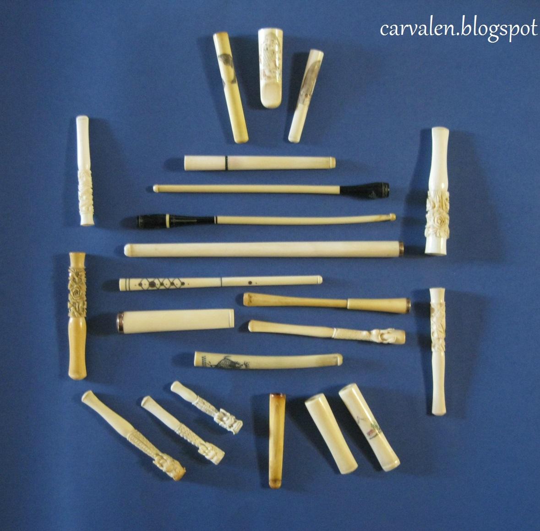 Xi Boquillas Para Cigarros Y Cigarrillos Hechas En Marfil 22  # Muebles Para Cigarros