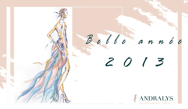 Voeux 2013  créateur robes de mariée