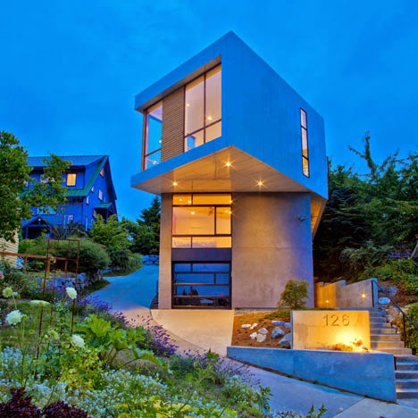 Desain Rumah Minimalis 2 Lantai Ala Jepang