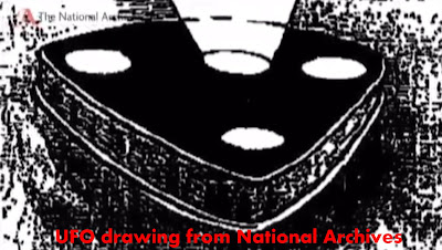 UFO drawing from National Archives 2012