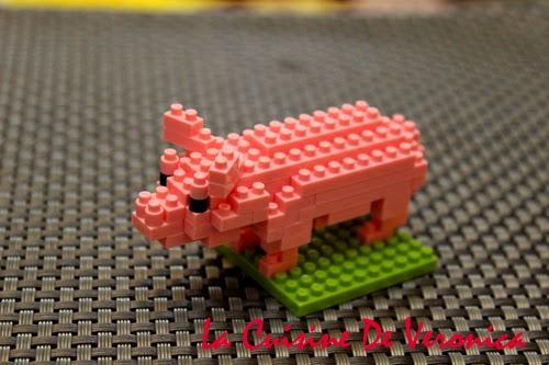 La Cuisine De Veronica Nanoblock Pig