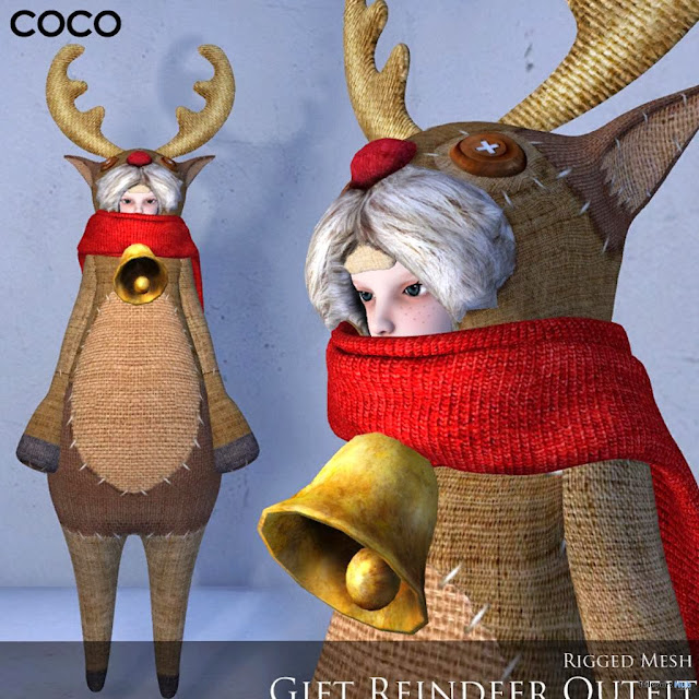 Reindeer Outfit by Coco Designs