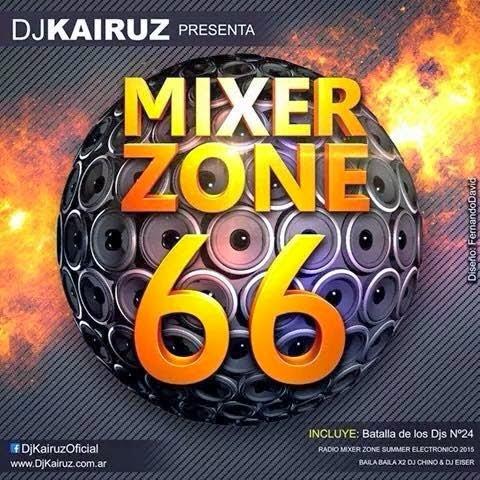 Dj Kairuz - Mixer Zone 66 (2015)