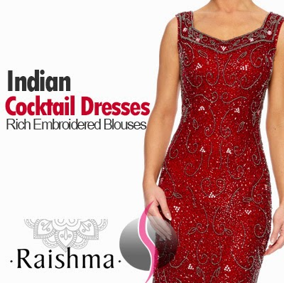 Indian Cocktail Dresses
