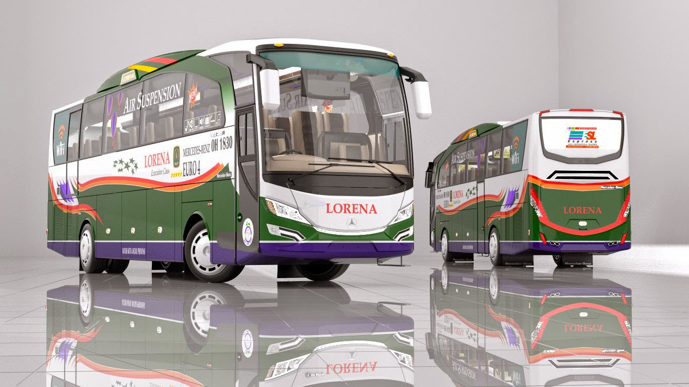 Design bus NEXUS Jetbus Facelift