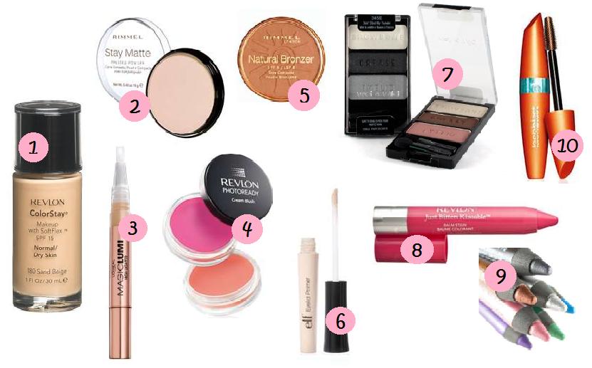 makeup kit for teenage girls. top 10 drugstore products: makeup starter kit for teenage girls y