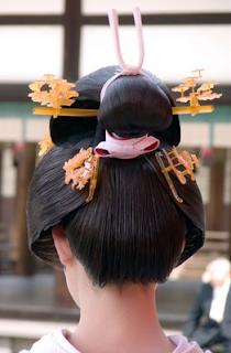 Peinado Geisha