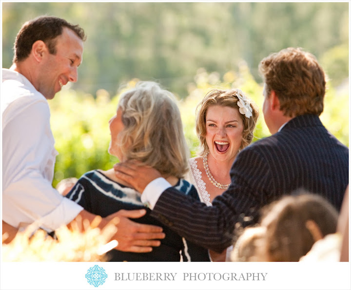 Napa wine country outdoor wedding photography ceremony