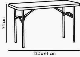 alquiler de mesas para verbena en jaen