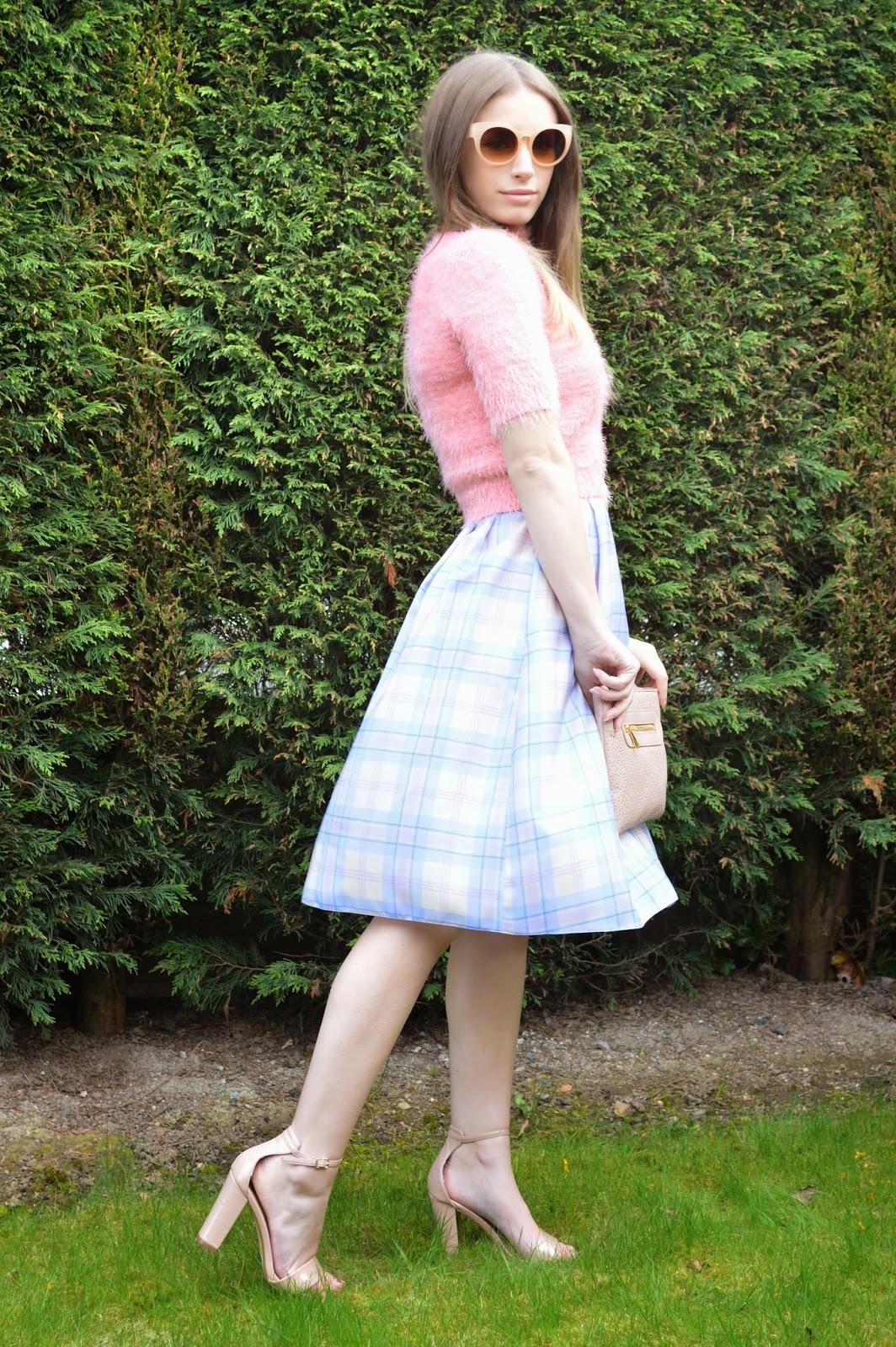 midi skirts fluffy jumpers danielle kimberley
