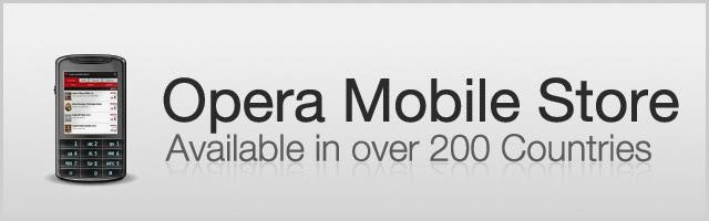 Opera mobile store indir