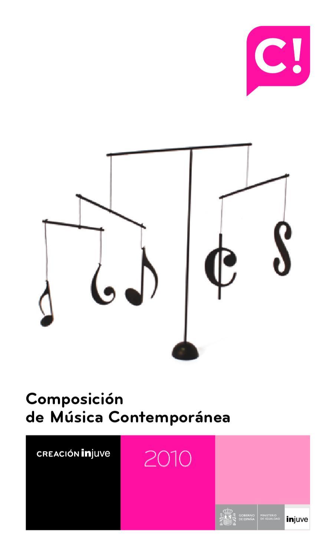 Premio de Composición Injuve 2010