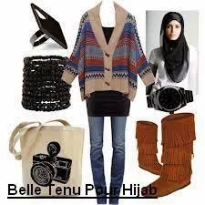 Hijab jeans