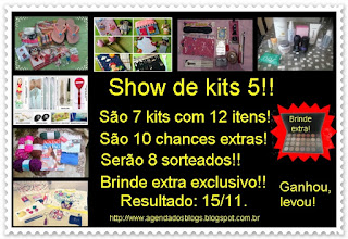Agenda dos Blogs - Show de kits 5.