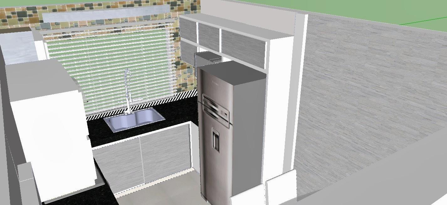 cozinha planejada pequena, decor, decoração