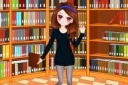 Kütüphane Kızı Giydirme Oyunu