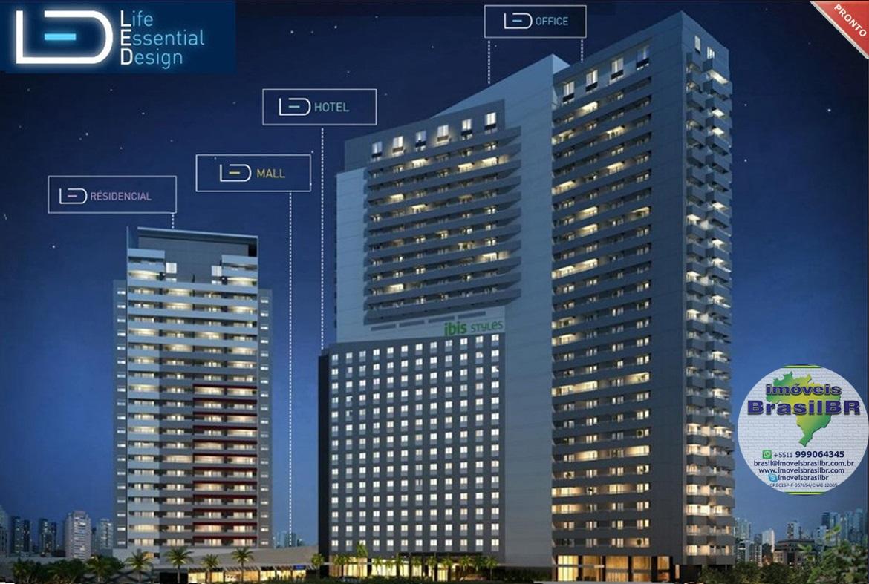 LED Barra Funda - Complexo multiúso, Edifícios Residencial, Comercial, Hotel Ibis Styles e Mall