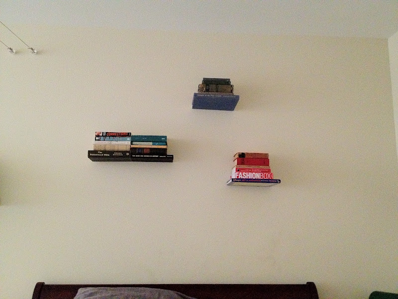 Invisible Wall Shelves
