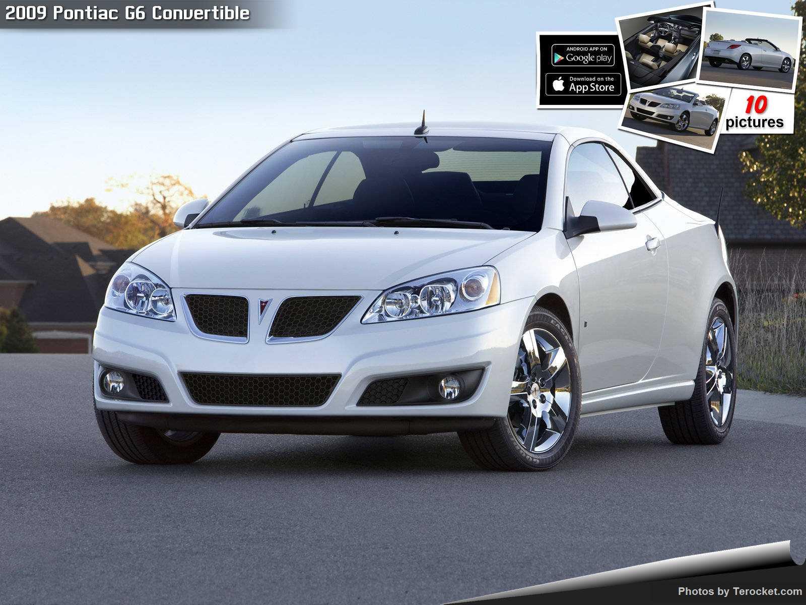 Hình ảnh xe ô tô Pontiac G6 Convertible 2009 & nội ngoại thất