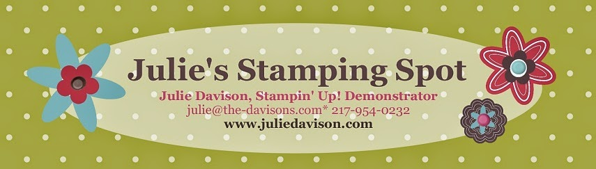 Julie's Stamping Spot -- Stampin' Up! Project Ideas by Julie Davison