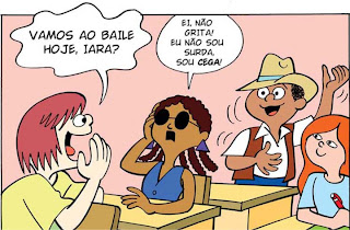 Revista em Quadrinhos -Inclusão de Alunos Portadores de Deficiência no Espaço Escolar