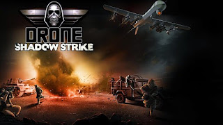 Screenshots of the Drone: Shadow Strike for Android tablet, phone.
