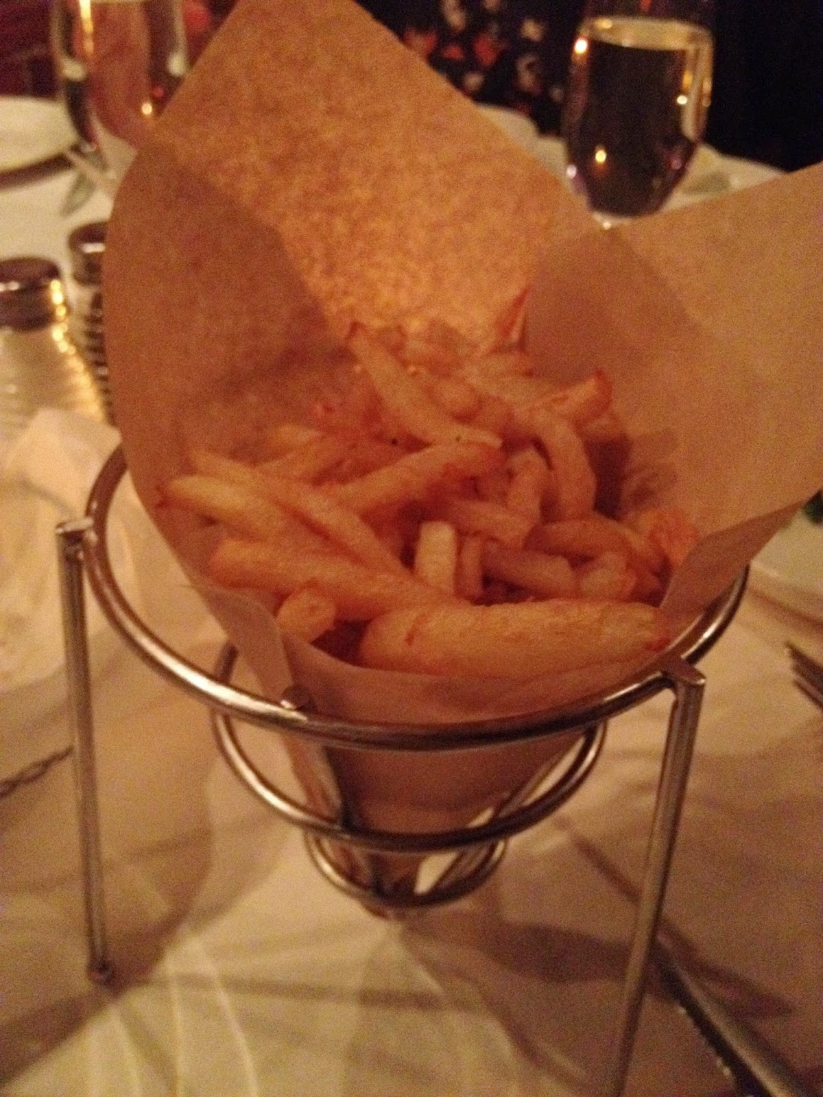 Duck fat fries from Fred's Not Here