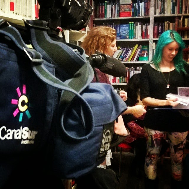 La Extra-vagante, XV Encuentro del comic y la Ilustración de Sevilla, ilustración, comic, Sarah con Hache, Sandra María y ªRU-MOR