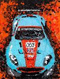 Aston Splash Canvas