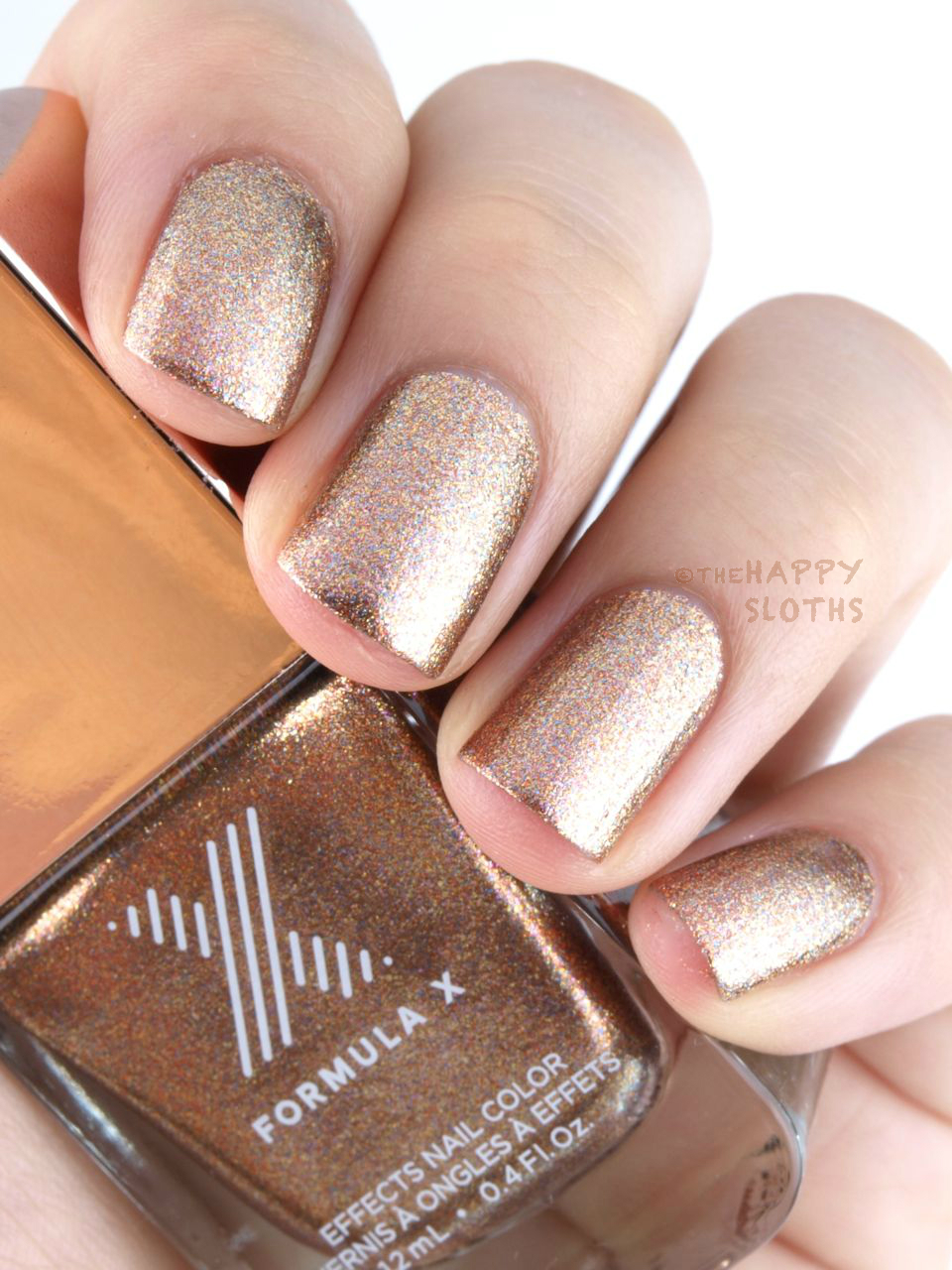 Formula X Effects Nail Color in \