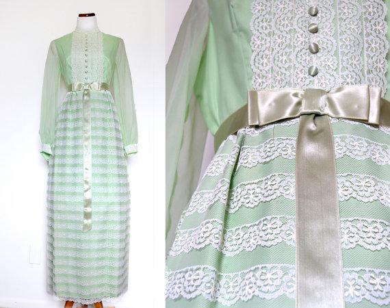 ELS\' CHAMBER: Vintage Prom Dresses