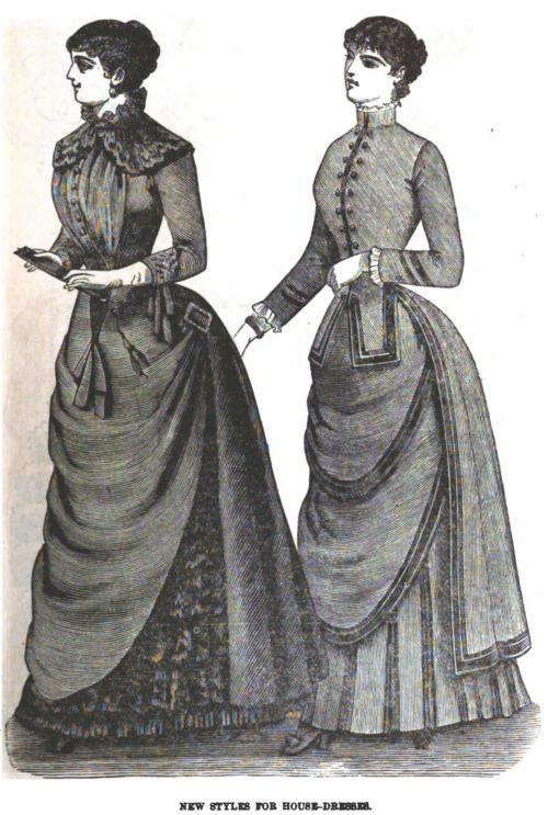 Model 23rd Simplicity Pattern 2172 Misses Costume Victorianera Dress