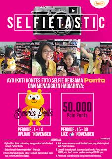 Info Kontes - Kontes Selfie Bersama Ponta Berhadiah Boneka Ponta