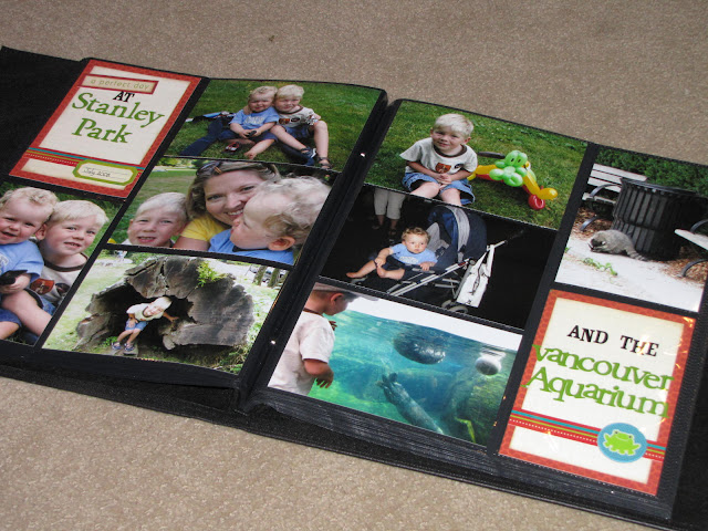 Quick and Easy Scrapbooking.  Record your memories in a snap!  www.cleanandscentsible.com