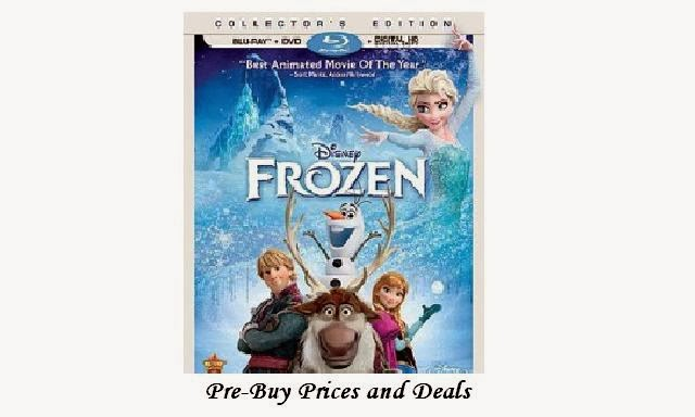 Disney's Frozen - Pre-Buy Deals and Prices