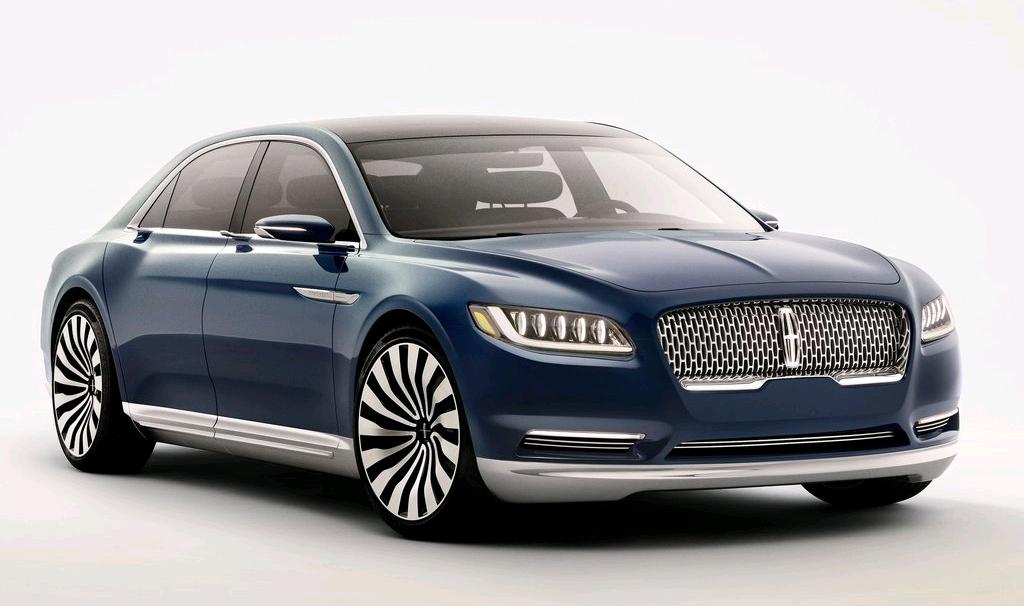 Lincoln Continental 2017 - Tương lai của hãng xe Lincoln sẽ chính thức bán ra trong 1 năm nữa
