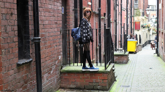 fbloggers, alternative outfit, eyes jacket