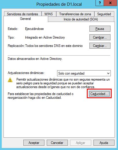 Limpieza automática de registros DNS obsoletos
