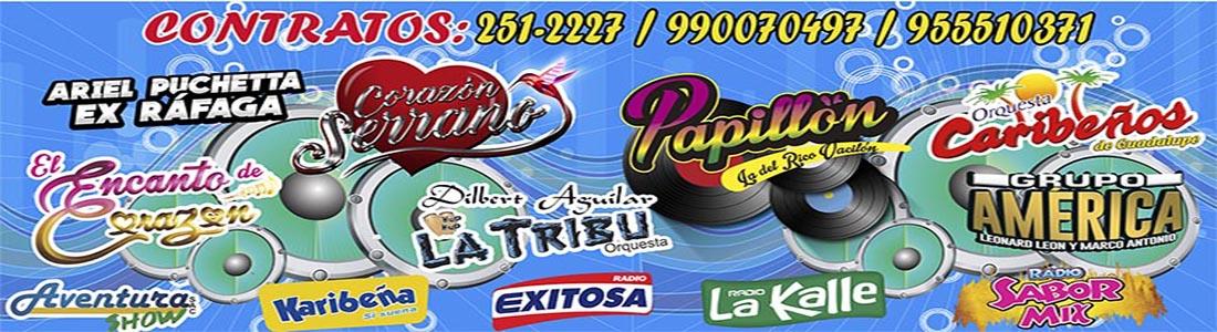 AVENTURA SHOW,Eventos,conciertos,presentaciones de cumbia,musica,Corazon Serrano ,Briyit