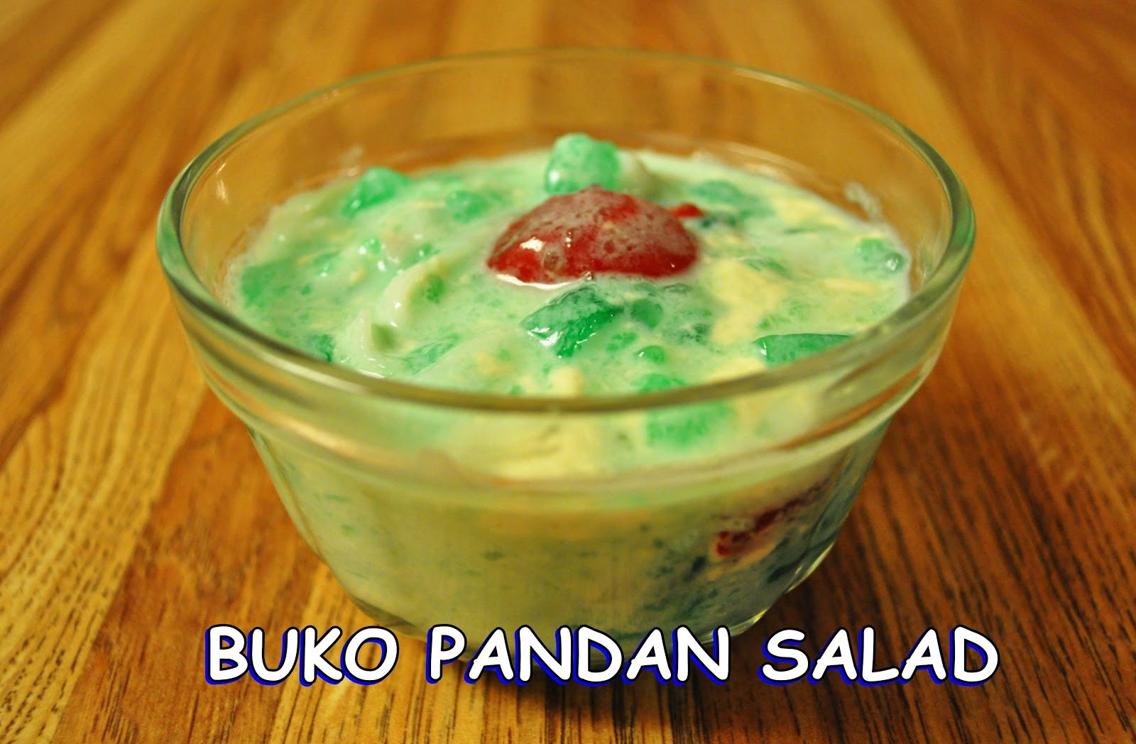 Buko Pandan Fruit Salad Recipe