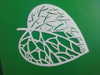 вытынанки, листик вырезанный, листочек декоративный своими руками